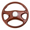 "18"" All Wood 4 Spoke Steering Wheel - Freightliner 1989~July 2006"